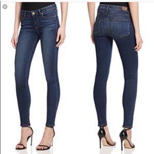 PAIGE // Peg Skinny Jeans Bardot Wash